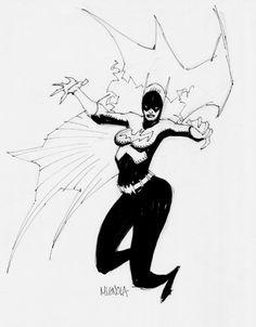 Mike Mignola BATGIRL Comic Art