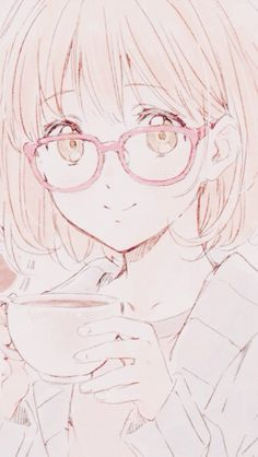 "furuyasmiyuki: """" kyoukai no kanata phone wallpapers requested by laetandthecookies "" "" Manga Girl, Anime Manga, Anime Art, Vocaloid, Mirai Kuriyama, Kyoto Animation, Kawaii Anime Girl, Me Me Me Anime, Anime Characters"
