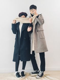 Korean Fashion: Couple Look♥  Great outfit ideas/looks for couples to wear                                                           ...