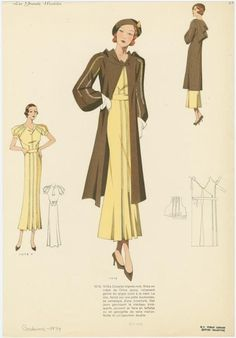 What Did Women Wear in the 1930s – Part 1