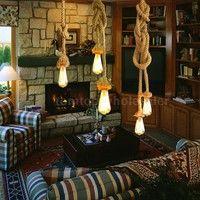 Length:50cm Item Type:Pendant Lights Technics:Hand Knitted Body Material:Wood Light Source:LED Bulbs