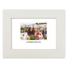 Writeable Border Memory Art Print, White, Pearl Shimmer Card Stock, 5x7, White
