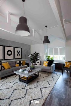 Black white neutrals decor