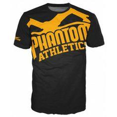 "Phantom Athletics Shirt ""EVO - Supporter 2.0"" - Black/Orange"