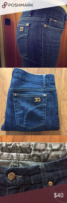 Joes Jeans [[Capri/Cropped]] Like new! Excellent condition dark denim wash Joe's Jeans Jeans Ankle & Cropped