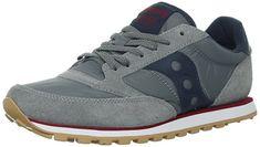 new style 0dccf 962ff Saucony Originals Men s Jazz Low Pro Sneaker,Charcoal Red,11 M US · Classic  JazzRetro SneakersAthletic ShoesOriginalsCharcoalTrainer ...