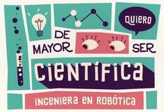 De mayor quiero ser… ingeniera en robótica