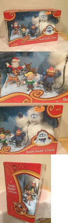 Rudolph 95252: Rudolph The Red Nosed Reindeer Humble Bumble And Friends Deluxe Figure Set Mib -> BUY IT NOW ONLY: $49.99 on eBay!
