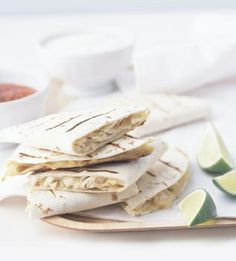 Chicken Quesadillas | JuJu Good News