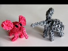 Rainbow Loom Nederlands - 3D Olifantje - Loom bands. Elephant. Tutorial in dutch.
