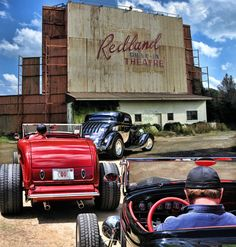 pictures of rat rod trucks Drive Inn Movies, Drive In Movie Theater, E Motor, Automotive Art, Custom Cars, Rats, Hot Rods, Cool Cars, Classic Cars