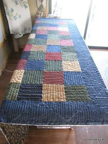 Quilting In The BunkHouse: Time Out for Quilting LOVIN' this border!