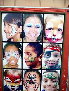 Simple facepainting...