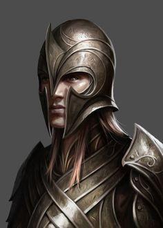 Elf warrior.