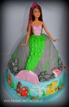 Zeemeermin taart