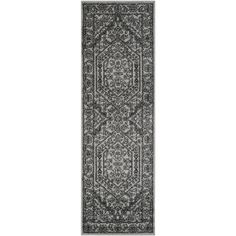 Safavieh Adirondack Silver/ Black Rug (2'6 x 6') | Overstock™ Shopping - Great Deals on Safavieh Runner Rugs