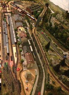 maqueta y diorama tren gohobby #modeltrainlayouts #modeltrainsets