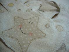 Baby bib whit stars