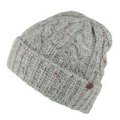 Joules Hats Travis Beanie Hat - Grey from Village Hats.
