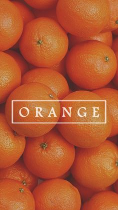Ideas For Fruit Aesthetic Wallpaper Orange Wallpaper, Colorful Wallpaper, Orange Fruit, Orange Color, Feeds Instagram, Emoticons, Orange Aesthetic, Aesthetic Girl, Orange You Glad