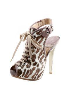 Zebra Print Clog Sandal