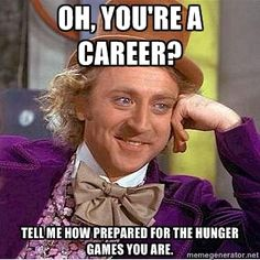 If you've read The Hunger Games, you'll get this.