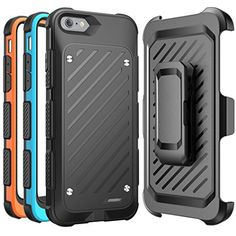 iPhone 6s Battery Case SUPCASE MFI Certified Beetle Power Holster Battery Case for Apple iPhone 6  Retail Packaging  BlackBlueOrange * You can get more details by clicking on the image.