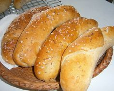 Hot Dog Buns, Hot Dogs, Czech Recipes, Bread, Czech Food, Brot, Baking, Breads, Buns