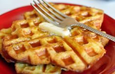 French toast made in a waffle iron - must make this. This website has a bunch of cool ideas to use a waffle iron!