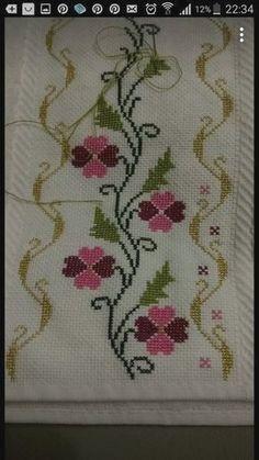 Cross Stitch Letters, Cross Stitch Borders, Cross Stitch Samplers, Modern Cross Stitch, Cross Stitch Flowers, Cross Stitch Designs, Cross Stitching, Cross Stitch Embroidery, Baby Knitting Patterns