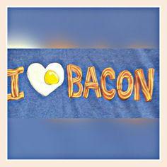 #Bacon #tshirt