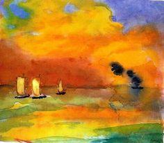 Helles meer- Emil Nolde