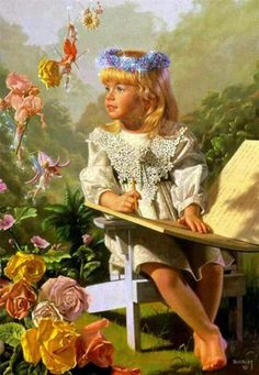 "http://iamachild.files.wordpress.com/2011/05/naming-of-the-flowers.jpg ""Naming of the Flowers"" by Bob Byerley"