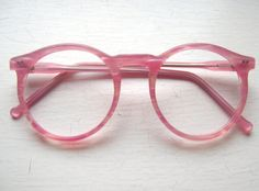 80s Colors in Optics Oversized Peabody by BackThennishVintage