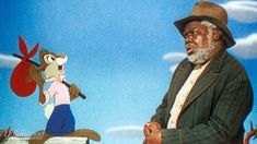 Song of the South And Dumbo's Jim Crow Scene Will Not Be on Disney+ - Reel Talk Inc. Disney Songs, Disney Art, Walt Disney, Group Of Crows, Why Song, Uncle Remus, Disneyland Rides, Song Of The South, Splash Mountain