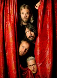 Foo Fighters keeping alternative rock influenced by punk music alive. Taylor looking very innocent in this photo.