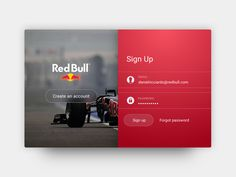 DailyUI #01 | Sign Up