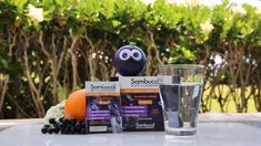 Easily get your Sambucol Black Elderberry on the go by simply adding the contents of a packet to a bottle or glass of water. Let dissolve for a great-tasting drink that is formulated to combine the power of Elderberry and Vitamin C. Providing the equivalent of 5.4g of premium elderberry per packet! Baking Videos, Food Videos, Nut Free, Dairy Free, Sambucol Black Elderberry, Calcium Phosphate, Beetroot Powder, Halloween Stuff, Vegan Friendly