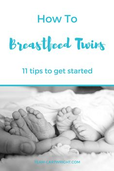Nursing twins can be tough at first, but it is possible. Here are 11 tips for breastfeeding twins. Breastfeeding Stories, Expecting Twins, Newborn Twins, Breastfeeding And Pumping, Baby Twins, Twin Babies, Triplets, Baby Baby, Baby Girls