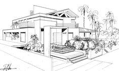 Croqui Ricardo Monti - MOS Arquitetos