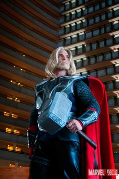 Thor cosplay! Awesome! #Cosplay