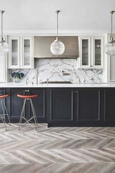 Trendy Home Design Black Dreams Ideas Home Decor Kitchen, Interior Design Kitchen, Home Kitchens, Kitchen Ideas, Dream Kitchens, Interior Ideas, Trendy Home, The Ranch, Beautiful Kitchens