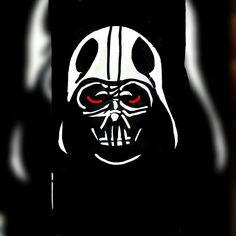 Vader Snapchat Art, Darth Vader, Fictional Characters, Fantasy Characters
