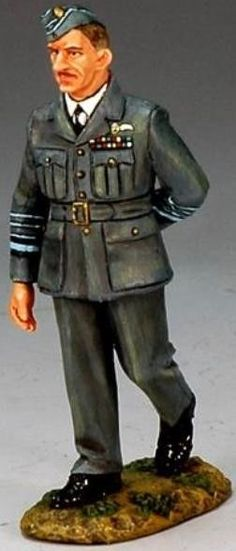 World War II British Royal Air Force RAF001 Air Chief Marshall Sir Hugh Dowding - Made by King and Country Military Miniatures and Models. Factory made, hand assembled, painted and boxed in a padded decorative box. Excellent gift for the enthusiast.