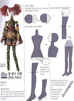 Выкройки кукол - Страница 4 - Форум