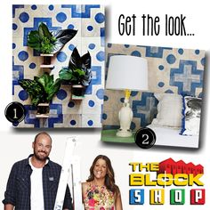 The Block Sky High | Week 1 Bedroom and ensuite reveals; get the look created by Trixie and Johnno! #theblock #theblockshop
