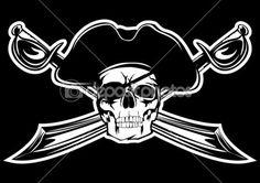 Pirate — Stock Illustration #4742854