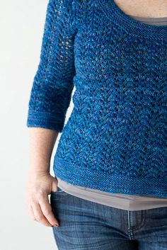 February Fitted Pullover - free pattern... by amyherzogdesigns