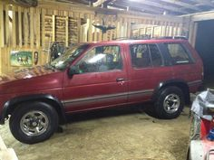 Used 1994 Nissan  Pathfinder, this ones name was Clifford ( Joe )