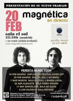 Entradas para No Mark + Magnética en Madrid el 20 de febrero 2014 en notikumi